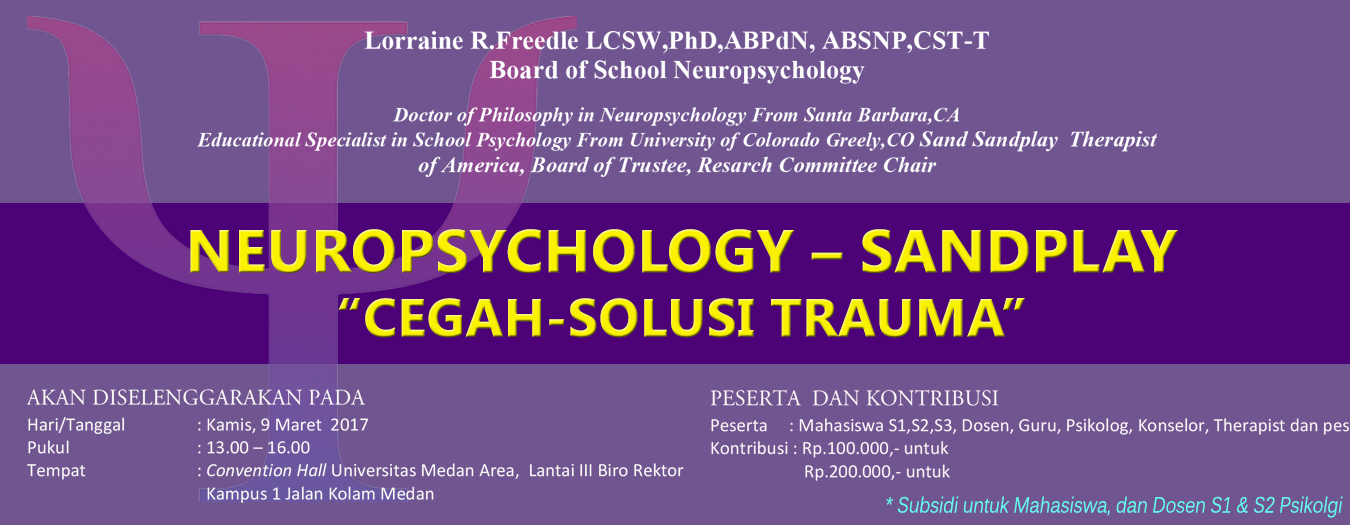 Seminar Neuropsychology – Sandplay