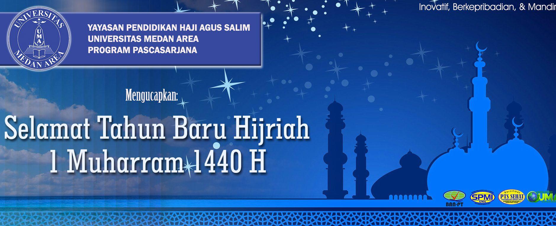 Selamat Tahun Baru Hijriah 1 Muharram 1440H